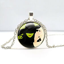 wizard of oz Pendant necklace Glass necklace Children's Christmas gift  DD  417