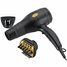 Gold N Hot GH2240 Professional 1875 Watt Ionic Hair Dryer with Duetto Styler