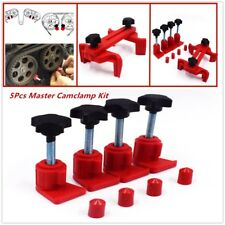 5PCS Dual Cam Clamp Engine Timing Locking Tool Sprocket Gear Locking Kit
