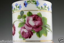 Berlin Porcelain Manufactory Teltow Dresden Hand Painted Cup and Saucer