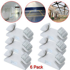 New listing 6 Pack Led Emergency Exit Light Battery Backup Commercial Lighting Fixture Lamp