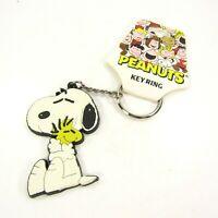 Vintage Peanuts Key ring Keychain Snoopy hugging Woodstock Love w/ Original Tag
