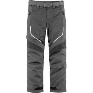 Icon Citadel Gray XL Mesh Motorcycle Pants 2821-0606 // NEW // FREE SHIPPING