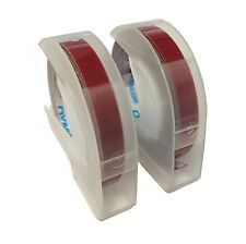 Dymo Embossing Tape, 0.25 Inches (2 Pack)
