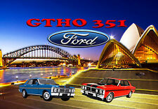 FORD XY GTHO  Ceramic Extra Large Tile  Photo Custom Print