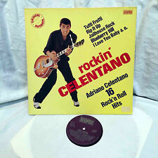LP – Rockin 'CELENTANO/16 Rock' n' roll hits