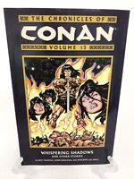 Chronicles of Conan Volume 13 Whispering Shadows Dark Horse Comics TPB New