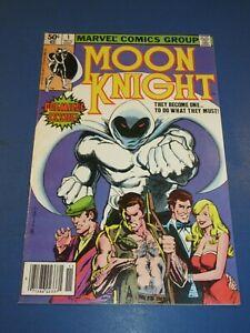 Moon Knight #1 Bronze age Key 1st Solo Title Fine-/Fine Wow Newsstand