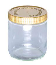 120 Honiggläser Neutralgläser 500g inkl. Deckel, Honigglas neutral 500 g Imker
