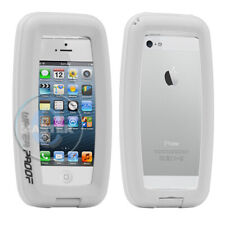 HIKING CAMPING SWIMMING WATERPROOF LOCK COVER CASE for iPHONE SE 5 5s 5c WHITE