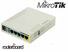 MikroTik RouterBOARD RB951Ui-2HnD 5 Port Lan Wireless WiFi Router Access point