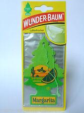 (1,85€/Einheit) 1x WUNDER-BAUM® Margarita Tree,Lufterfrischer,Autoduft,Duftbaum