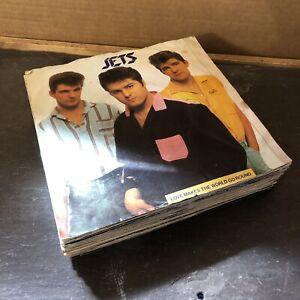 "20 x 1980s 7"" Records Job Lot, All Photographed [See Description] (7JLD)"