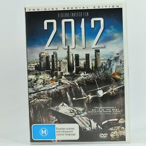2012 Special Edition John Cusack Chiwetel Eijiofor 2 Disc DVD GC