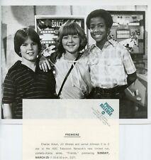 JILL WHELAN CHARLES AIKEN JARROD JOHNSON SMILING FRIENDS 1979 ABC TV PHOTO