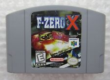 F-Zero X Nintendo 64 N64 Authentic Game Cleaned Tested Original GREAT SHAPE!