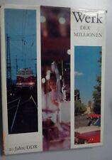 Werk der Millionen - 20 Jahre DDR Deutsche Demokratische Republik /Bildband/1969