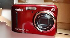 Kodak PIXPRO Friendly Zoom FZ43-RD 16MP Digital Camera with 4X / Red / New
