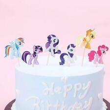 24Pcs My Little Pony Cupcake Topper My Little Pony Cake Topper Party Supplies