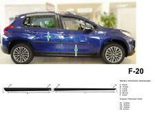 Türschutzleisten Rammschutz für Peugeot 2008 SUV 5-Türer 2013-