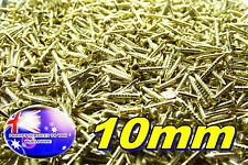 From Oz Quality 50 Piece X 10mm Solid Brass Mini Nails Small Tiny Hobby DIY FP