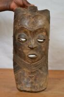 (African art tribal, amazing  pende mask from D R of  congo.)
