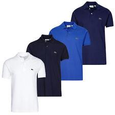 Lacoste camiseta polo l.12.12 Classic negro blanco azul marine have S M L XL XXL
