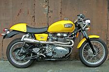 TEC Hi-Level 2>1 Stainless Exhaust for All Triumph Bonneville Thruxton Scrambler