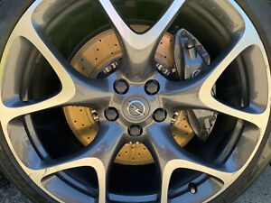 Brembo Brakes Calipers 2 piece rotors Full kit Set of 4 OPC VXR Vauxhall ASTRA