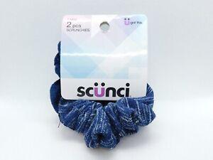 brand new scunci hair scrunchies 2 piece the original scrunch
