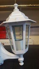 White Aluminium Coach Lantern 6 Sided