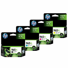 4 X Hp Genuine 965Xl High Yield Ink For Officejet Pro 9010 9012 9016 9018 9019
