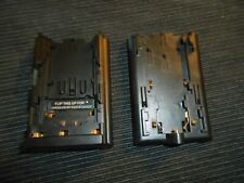 2X Battery Add Adaptor Plate A-B on the charger