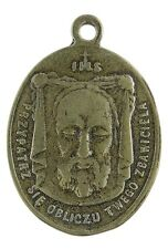 VERONICA'S VEIL / O. L. OF SORROWS Medal, bronze, from 19th c. Italian original