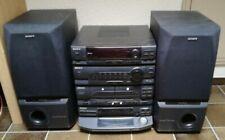 Sony Musik Hifi Anlage HCD-N455 175 Watt mit Twin Subwoofer