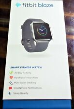 FITBIT BLAZE NICE SMART ACTIVITY HEART RATE WATCH BLACK MEDIUM ORIGINAL PACKAGE