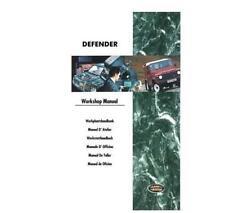 Land Rover Defender 300Tdi Workshop Manual + 300Tdi engine overhaul manual.