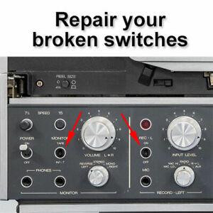 Revox Switch Repair Kit x3 for B77, PR99, A710/740, B710/750
