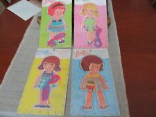 Lace-on Clothes Dolly Paper Dolls  Lot of 4 unopened  1975 Samuel Lowe Co.