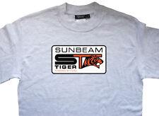 SUNBEAM ALPINE TIGER MARK 1 2 1 A V8 T-Shirt Classico Retrò 100% COTONE VINTAGE