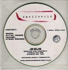 (CM664) Jesus, Smallworld - 2001 DJ CD