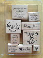 MANY THANKS  by Stampin Up 2001