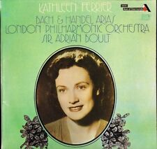 SDD 286 KATHLEEN FERRIER/BOULT bach and handel arias NEAR MINT DISC LP PS EX/EX