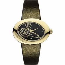 Vivienne Westwood Ellipse Women's Quartz Watch with Black  (  NEW AND 100% GEN )