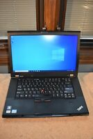 Lenovo ThinkPad T520 Intel Core i5-2520M 2.5GHz 8GB RAM 180GB SSD Win 10 Webcam