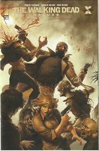 Walking Dead Deluxe # 13 Cover D Rapoza Image