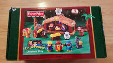 FISHER PRICE Little People Nativity Set with Original Box, Plays Music CHRISTMAS