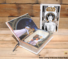 Hollow Book Safe - The Star Wars Trilogy Leia Edition - Leather Bound Book Safe