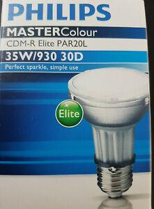 Philips Mastercolour CDM-R Elite 35w 930 E27 par30l 30d Entladungslampe PAR20 UV