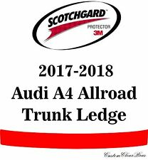 3M Scotchgard Paint Protection Film Clear Bra Pre-Cut 2017 2018 Audi A4 Allroad
